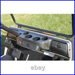 Club Car DS Golf Cart Carbon Fiber Dash Board Cover Fits 1982 and Up Models