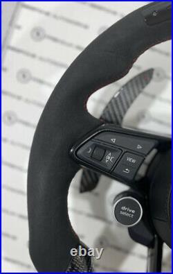 Custom Audi R8 RS Carbon Fibre LED Steering Wheel