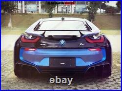 DarwinPRO BMW i8 BZK Carbon Fiber Rear Trunk Spoiler Wing Aero 2014-2017