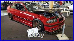 E36 AGT carbon fiber side skirts diffusers lips extensions splitters