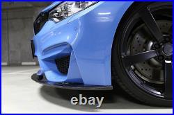 Evolved Bmw M3 M4 F80 F82 F83 3d Style Carbon Fiber Front Lip Spoiler Splitter