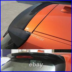 F20 Roof Spoiler Top Wing for BMW 125i 128i M135i 11-14 3D Style Carbon Fiber
