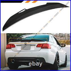 FOR 2007-13 BMW E93 335i 328i M3 CONVERTIBLE DUCKBILL CARBON FIBER TRUNK SPOILER