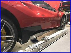 Ferrari 488 MS Style Body Kit Portion Carbon Fiber Side Skirt Fit GTB&SPIDER
