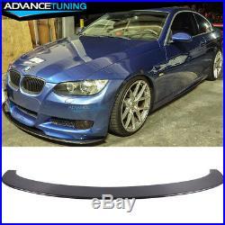 Fits 05-13 BMW E90 E92 3 Series M3 Carbon Fiber Front Bumper Lip Spoiler (CF)