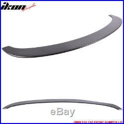 Fits 05-13 BMW E90 E92 3 Series M3 Style Carbon Fiber Front Bumper Lip (CF)
