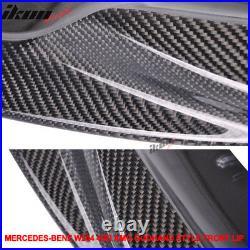 Fits 08-11 C Class W204 C63 Pre-LCI AMG Godhand Front Bumper Lip Carbon Fiber CF