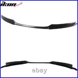 Fits 08-13 BMW E82 E88 M Sport Only Front Bumper Lip Spoiler Carbon Fiber CF