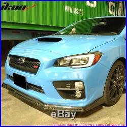 Fits 15-18 Subaru WRX STI 4Dr CS Style Front Bumper Lip Carbon Fiber CF