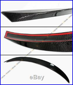 Fits For 2014-2020 Infiniti Q50 Q50s Vip O-type Carbon Fiber Trunk Spoiler Wing