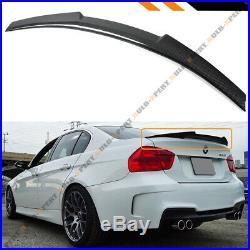 For 06-11 Bmw E90 3 Series Sedan & M3 Carbon Fiber Trunk Spoiler Wing-m4 Style