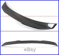 For 14-2020 Infiniti Q50 Psm Style High Kick Carbon Fiber Duckbill Trunk Spoiler