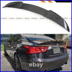 For 16-2020 Nissan Maxima 8th Highkick Duckbill Carbon Fiber Trunk Spoiler Wing
