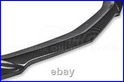 For 16-Up Camaro SS ZL1 Style CARBON FIBER Front Bumper Lower Lip Splitter