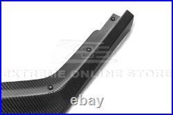 For 18-21 Subaru WRX STi CS Style CARBON FIBER Front Bumper Lower Lip Splitter
