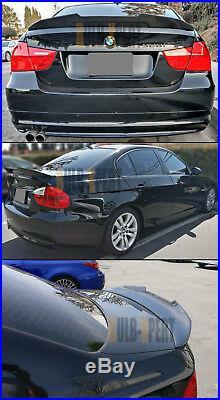 For 2006-11 Bmw E90 3 Series M3 Sedan Duckbill Carbon Fiber Trunk Spoiler Wing