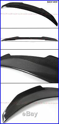 For 2006-11 Bmw E90 3 Series M3 Sedan Psm Style Carbon Fiber Trunk Spoiler Wing