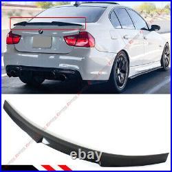 For 2006-11 Bmw E90 3 Series Sedan Carbon Fiber Trunk LID Spoiler Wing-m4 Style