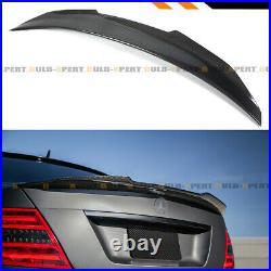 For 2008-14 Mercedes Benz W204 C63 Carbon Fiber Psm Highkick Trunk Spoiler Wing