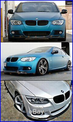 For 2010-2013 Bmw E92 E93 LCI Ark M Sport Carbon Fiber Front Bumper Lip Splitter