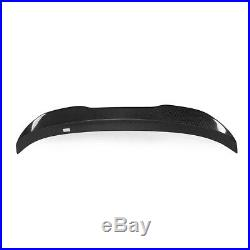 For 2011-17 BMW F10 5 Series & M5 Carbon Fiber High Kick PSM Trunk Spoiler Wing