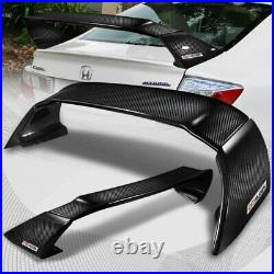 For 2012-2015 Honda Civic 4Dr MUG Style Full Carbon Fiber Rear Trunk Spoiler