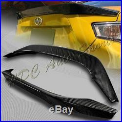 For 2013-2019 Subaru BRZ Scion FRS FR-S Carbon Fiber Rear Trunk Spoiler Lid Wing