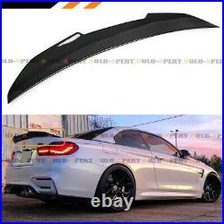 For 2014-2020 Bmw F33 F83 M4 Convertible Carbon Fiber Psm Highkick Trunk Spoiler