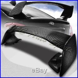 For 2015-2018 Subaru WRX STi Full Real Carbon Fiber Rear Trunk Spoiler Wing