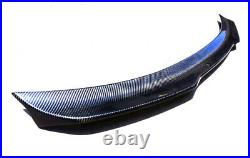 For 2015-2020 Ford Mustang H-Style Carbon Fiber Trunk Spoiler Wing Lip