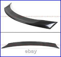 For 2017-19 Infiniti Q60 Jdm High Kick Duckbill Carbon Fiber Trunk Spoiler Wing
