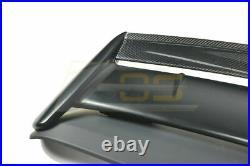 For 96-00 Honda Civic Hatch SEEKER V2 Style CARBON FIBER Rear Roof Wing Spoiler
