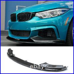 Front Bumper Lip Splitter for BMW F32 F33 F36 4 Series M Sport Carbon Fiber Look