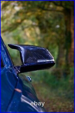 GMD Carbon Fibre Mirror Covers L&R Fit BMW F20 F21 F30 F31 F32 F33 M3 M4 Style