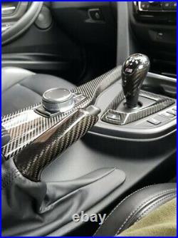 GMD Performance Carbon Fibre Gear Knob Cover Handbrake Fits M3 F80 M4 F82 F83