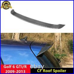 Golf 6 GTI R Roof Spoiler Carbon Fiber Wings for Volkswagen Golf MK6 GTI R 09-13