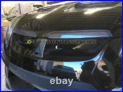 HSV GTS E2 E3 r8 g8 maloo Pontiac VE carbon fiber bonnet garnish hood trim chrom