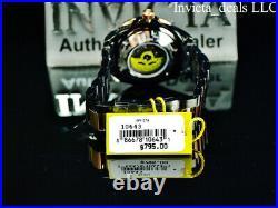 Invicta Men's 47mm GRAND DIVER Automatic NH35A BLACK CARBON FIBER DIAL SS Watch