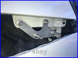 JDC Evo X Double Latch Bumper Quick Release Kit. Carbon Fiber Mounting Brackets