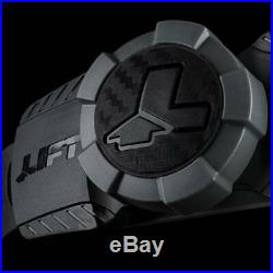 Lift Safety Dax 50/50 Carbon Fiber Cap Hard Hat White-Black