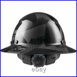 Lift Safety Dax Carbon Fiber Full Brim Hard Hat Black Camo- NEW