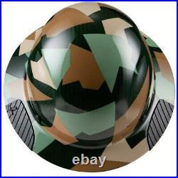 Lift Safety Dax Carbon Fiber Full Brim Hard Hat Jungle Camo HDC-20CJ- NEW