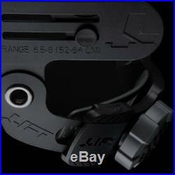 Lift Safety HDF-50C19WC Dax 50/50 Carbon Fiber Full Brim Hard Hat White-Black