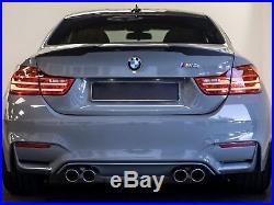 M4 Coupe BMW Carbon Fibre Spoiler to fit 2014 + BMW F82 M4 Trunk Boot Lid
