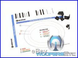 MEMPHIS MCX57 5x7 6x8 CARBON FIBER COAXIAL 2-WAY ALUMINUM TWEETERS SPEAKERS