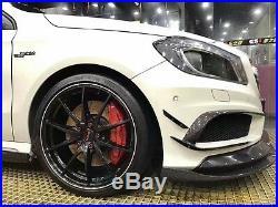 MERCEDES-BENZ GLA A45 AMG V STYLE CARBON FIBER BODY KIT Front Rear Side Spoiler