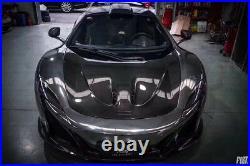 McLaren 650S Carbon Fiber P1 Style Front Hood Bonnet Body Kit Fits McLaren 650S