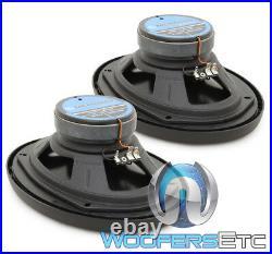 Memphis Mcx69 6'x9 Carbon Fiber Coaxial 2way Aluminum Tweeters Speakers Car New