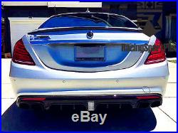 Mercedes-Benz S63/S65 Carbon Fiber Kit Body Kit Carbon Fiber Rear Spolier Wings
