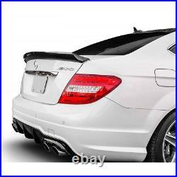 Mercedes Benz W204 Sedan C250 C300 C350 C63 AMG Carbon Fiber Rear Trunk Spoiler
